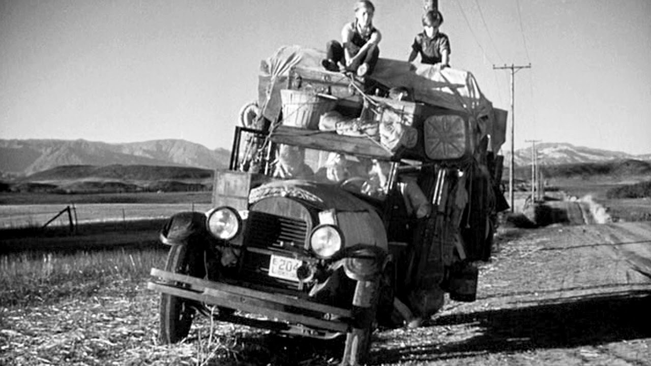 the saga of one family trying to survive in the 1930s in the epic movie grapes of wrath The movie was one of the first to extensively use digital color correction to give the film an autumnal, sepia-tinted look the film received positive reviews, and the soundtrack won a grammy award for album of the year in 2001 using american folk music  [10.
