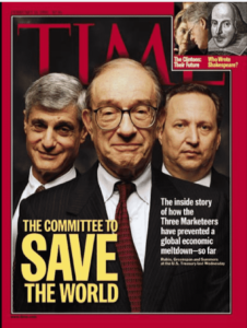 Time magazine Fed Cover